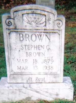 BROWN, STEPHEN C. - Scioto County, Ohio | STEPHEN C. BROWN - Ohio Gravestone Photos