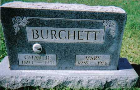 BURCHETT, CHARLIE - Scioto County, Ohio | CHARLIE BURCHETT - Ohio Gravestone Photos