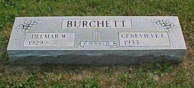 BURCHETT, GENEVIEVE F. - Scioto County, Ohio | GENEVIEVE F. BURCHETT - Ohio Gravestone Photos
