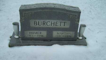 BURCHETT, HOMER - Scioto County, Ohio | HOMER BURCHETT - Ohio Gravestone Photos