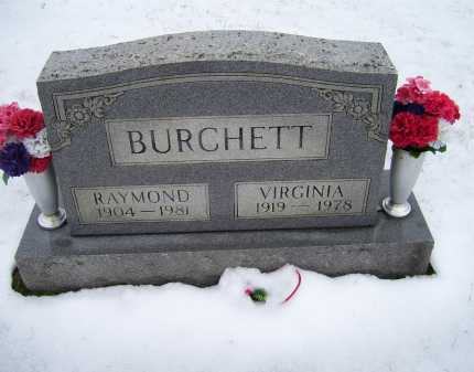 BURCHETT, RAYMOND - Scioto County, Ohio | RAYMOND BURCHETT - Ohio Gravestone Photos