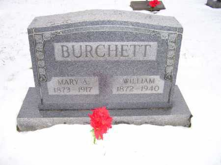 BURCHETT, MARY A. - Scioto County, Ohio | MARY A. BURCHETT - Ohio Gravestone Photos