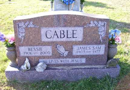 CABLE, JAMES SAM - Scioto County, Ohio | JAMES SAM CABLE - Ohio Gravestone Photos