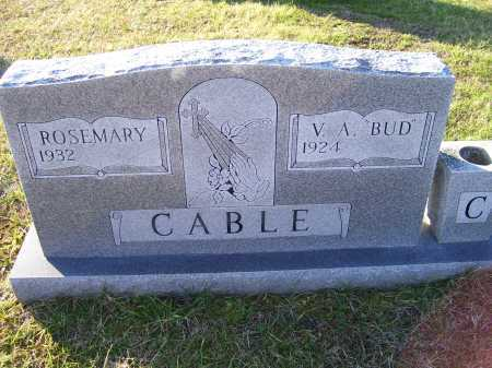 CABLE, V. A. - Scioto County, Ohio | V. A. CABLE - Ohio Gravestone Photos