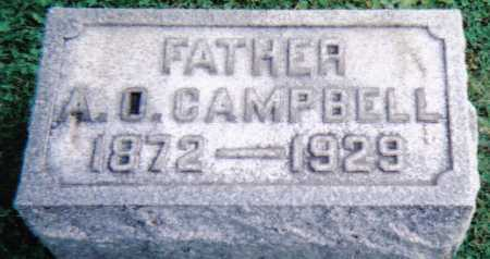 CAMPBELL, A. O. - Scioto County, Ohio | A. O. CAMPBELL - Ohio Gravestone Photos