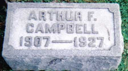 CAMPBELL, ARTHUR F. - Scioto County, Ohio | ARTHUR F. CAMPBELL - Ohio Gravestone Photos