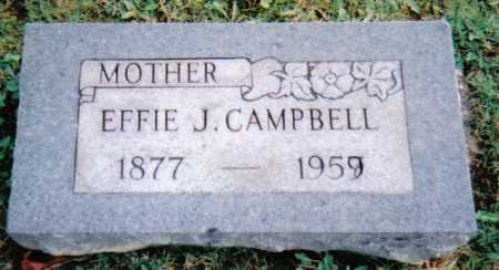 CAMPBELL, EFFIE J. - Scioto County, Ohio | EFFIE J. CAMPBELL - Ohio Gravestone Photos