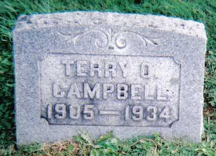 CAMPBELL, TERRY O. - Scioto County, Ohio | TERRY O. CAMPBELL - Ohio Gravestone Photos