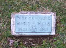 CAMPBELL, VADA - Scioto County, Ohio | VADA CAMPBELL - Ohio Gravestone Photos