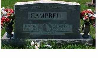 CAMPBELL, W. NORM - Scioto County, Ohio | W. NORM CAMPBELL - Ohio Gravestone Photos