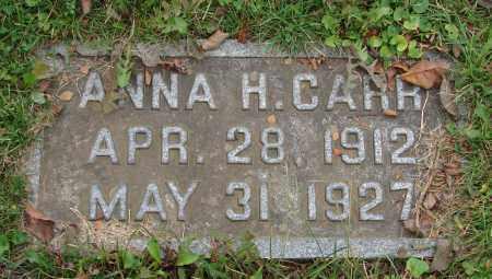 CARR, ANNA HAZEL - Scioto County, Ohio | ANNA HAZEL CARR - Ohio Gravestone Photos