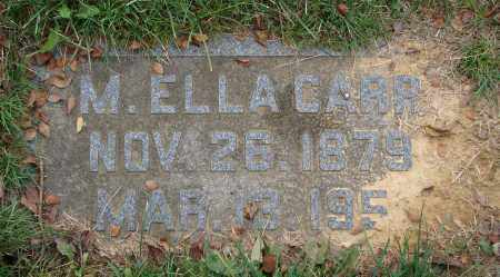 CARR, MARY E. - Scioto County, Ohio | MARY E. CARR - Ohio Gravestone Photos
