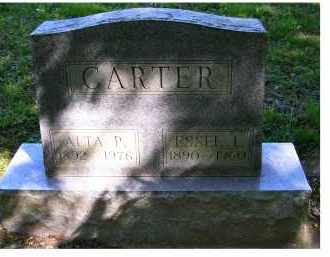 CARTER, ESSEL I. - Scioto County, Ohio | ESSEL I. CARTER - Ohio Gravestone Photos