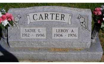 CARTER, LEROY A. - Scioto County, Ohio | LEROY A. CARTER - Ohio Gravestone Photos