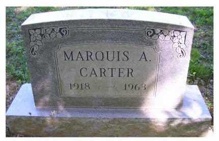 CARTER, MARQUIS A. - Scioto County, Ohio | MARQUIS A. CARTER - Ohio Gravestone Photos