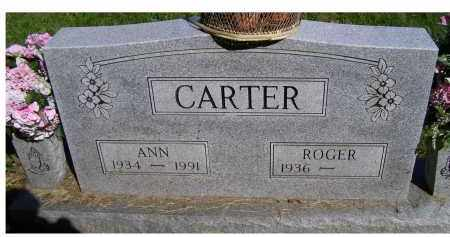 CARTER, ANN - Scioto County, Ohio | ANN CARTER - Ohio Gravestone Photos