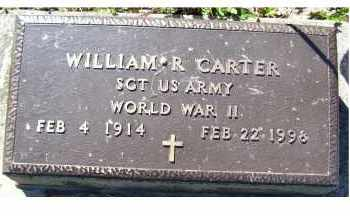 CARTER, WILLIAM R. - Scioto County, Ohio | WILLIAM R. CARTER - Ohio Gravestone Photos