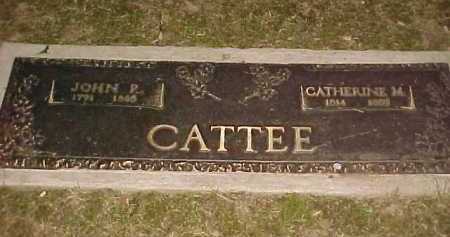 CATTEE, CATHERINE M. - Scioto County, Ohio | CATHERINE M. CATTEE - Ohio Gravestone Photos