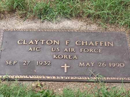 CHAFFIN, CLAYTON FRED - Scioto County, Ohio | CLAYTON FRED CHAFFIN - Ohio Gravestone Photos