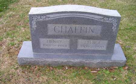 CHAFFIN, HENRY - Scioto County, Ohio | HENRY CHAFFIN - Ohio Gravestone Photos