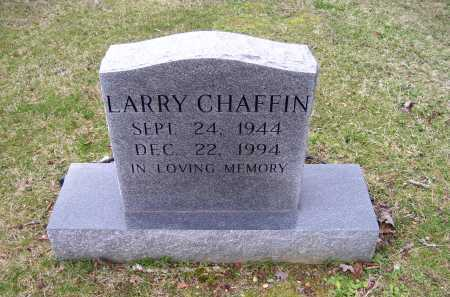 CHAFFIN, LARRY - Scioto County, Ohio | LARRY CHAFFIN - Ohio Gravestone Photos