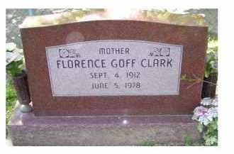 CLARK, FLORENCE - Scioto County, Ohio | FLORENCE CLARK - Ohio Gravestone Photos
