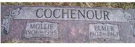 COCHENOUR, MOLLIE - Scioto County, Ohio | MOLLIE COCHENOUR - Ohio Gravestone Photos