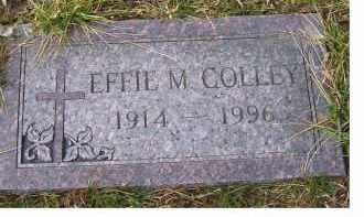 COLLEY, EFFIE M. - Scioto County, Ohio | EFFIE M. COLLEY - Ohio Gravestone Photos