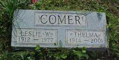 COMER, THELMA - Scioto County, Ohio | THELMA COMER - Ohio Gravestone Photos
