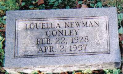 NEWMAN CONLEY, LOUELLA - Scioto County, Ohio | LOUELLA NEWMAN CONLEY - Ohio Gravestone Photos