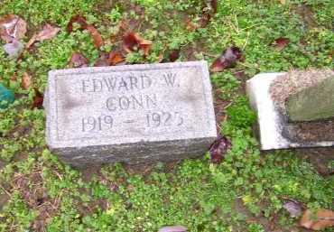CONN, EDWARD W. - Scioto County, Ohio | EDWARD W. CONN - Ohio Gravestone Photos