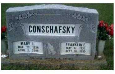 CONSCHAFSKY, MARY L. - Scioto County, Ohio | MARY L. CONSCHAFSKY - Ohio Gravestone Photos