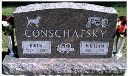CONSCHAFSKY, BIRDA - Scioto County, Ohio | BIRDA CONSCHAFSKY - Ohio Gravestone Photos