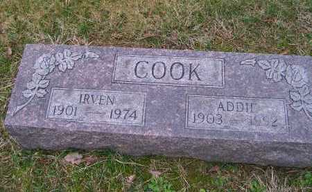 COOK, ADDIE - Scioto County, Ohio | ADDIE COOK - Ohio Gravestone Photos