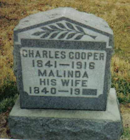 COOPER, CHARLES - Scioto County, Ohio | CHARLES COOPER - Ohio Gravestone Photos