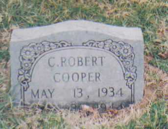 COOPER, C. ROBERT - Scioto County, Ohio | C. ROBERT COOPER - Ohio Gravestone Photos