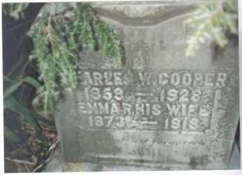 COOPER, CHARLES W. - Scioto County, Ohio | CHARLES W. COOPER - Ohio Gravestone Photos