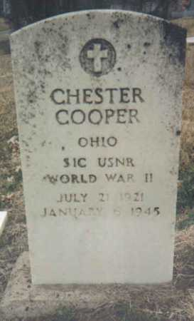COOPER, CHESTER - Scioto County, Ohio | CHESTER COOPER - Ohio Gravestone Photos