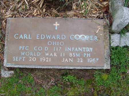 COOPER, CARL EDWARD - Scioto County, Ohio   CARL EDWARD COOPER - Ohio Gravestone Photos