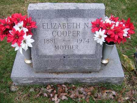 COOPER, ELIZABETH N. - Scioto County, Ohio | ELIZABETH N. COOPER - Ohio Gravestone Photos