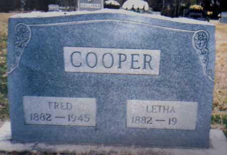 COOPER, FRED - Scioto County, Ohio | FRED COOPER - Ohio Gravestone Photos