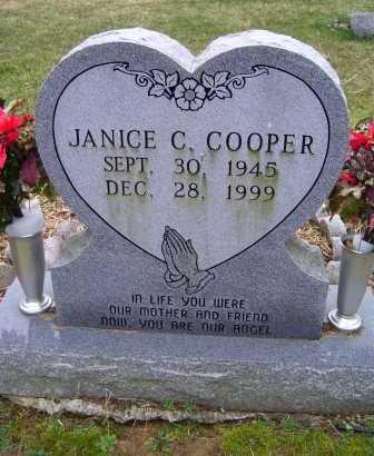 COOPER, JANICE C. - Scioto County, Ohio | JANICE C. COOPER - Ohio Gravestone Photos