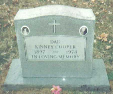 COOPER, KINNEY - Scioto County, Ohio | KINNEY COOPER - Ohio Gravestone Photos