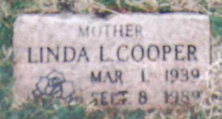 COOPER, LINDA L. - Scioto County, Ohio | LINDA L. COOPER - Ohio Gravestone Photos