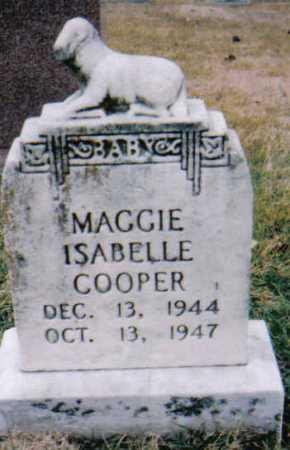 COOPER, MAGGIE ISABELLE - Scioto County, Ohio | MAGGIE ISABELLE COOPER - Ohio Gravestone Photos