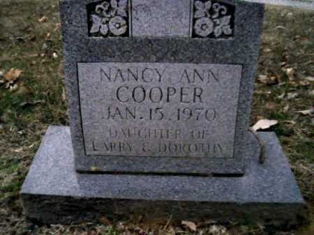 COOPER, NANCY ANN - Scioto County, Ohio   NANCY ANN COOPER - Ohio Gravestone Photos