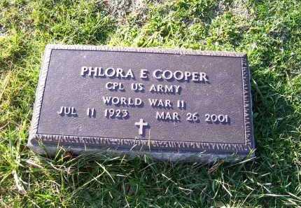 COOPER, PHLORA E. - Scioto County, Ohio | PHLORA E. COOPER - Ohio Gravestone Photos
