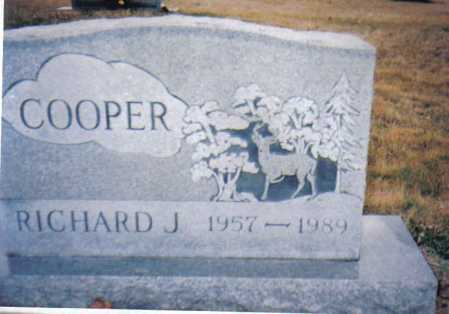 COOPER, RICHARD J. - Scioto County, Ohio | RICHARD J. COOPER - Ohio Gravestone Photos