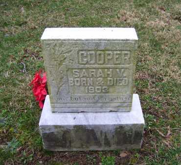 COOPER, SARAH M. - Scioto County, Ohio | SARAH M. COOPER - Ohio Gravestone Photos