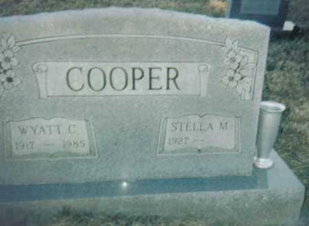 COOPER, WYATT C. - Scioto County, Ohio | WYATT C. COOPER - Ohio Gravestone Photos